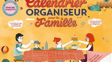 calendrier organiseur pour la famille